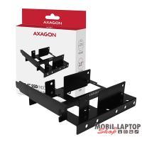 """Axagon RHD-P35 1x3,5"""" és 2x2,5"""" fekete SSD / HDD beépítő keret PCI slotba"""