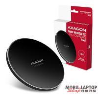 Axagon WDC-P10T vékony wireless fekete QI töltő okostelefonhoz