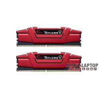 G-Skill 16GB/3600MHz DDR-4 Ripjaws V piros (Kit! 2db 8GB) (F4-3600C19D-16GVRB) memória