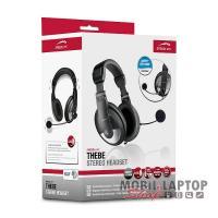 Headset sztereo SPEEDLINK THEBE fekete SL-8743-BK