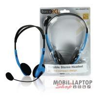 Headsett BasicXL kék BXL-HEADSET1BU