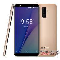 "Leagoo M9 5,5"" 3G 2/16GB arany okostelefon"