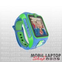 MyKi Junior 3G kék-zöld helymeghatározós gyerekóra kétirányú videóhívással