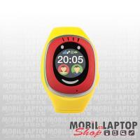 MyKi Touch GPS/GSM helymeghatározós gyerekóra piros-sárga
