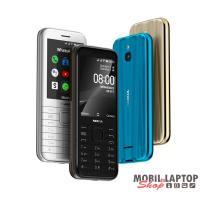 "Nokia 8000 4G 2,8"" Dual SIM fekete mobiltelefon"