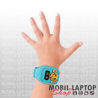 Okosóra gyerek GPS-sel, Micro sim Kidsafe kék
