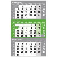 Realsystem 2022-es 6061-80 12lapos zöld speditőr naptár