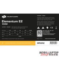 SilentiumPC Elementum E2 550W 80PLUS EU ATX tápegység