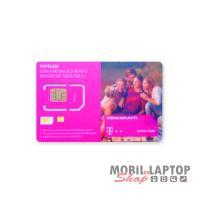 SIM kártya Telekom REGISZTRÁLATLAN 40 perc lebeszélhető + 500MB internet