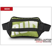 Sox univerzális zöld sport övtáska