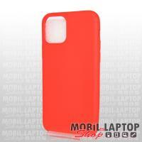 """Szilikon tok Apple iPhone 11 Pro ( 5,8"""" ) ultravékony matt piros"""