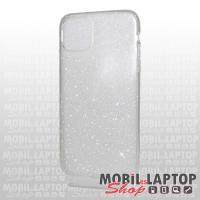 """Szilikon tok Apple iPhone 11 Pro Max ( 6,5"""" ) csillámos átlátszó"""