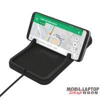 Trust Flexo wireless fekete autós QI töltő okostelefonhoz
