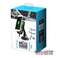 Trust Yudo wireless fekete autós QI töltő és tartó okostelefonhoz