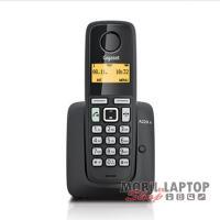 Vezetékes telefon Gigaset A220A DECT hordozható fekete (üzenetrögzítővel)