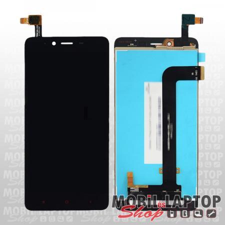 Kijelző Érintőpanellel Xiaomi Redmi Note 2 fekete + szervizelési díj