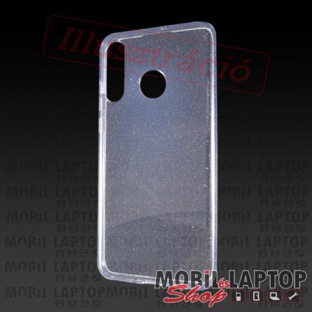 """Szilikon tok Apple iPhone 12 Mini ( 5,4"""" ) csillámos átlátszó"""